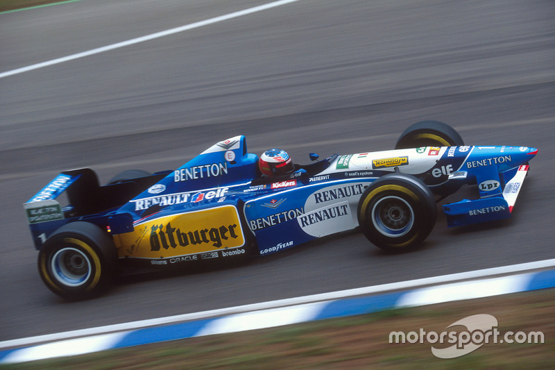 #14: Benetton B195 (1995)