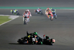 Chute de Johann Zarco, Monster Yamaha Tech 3