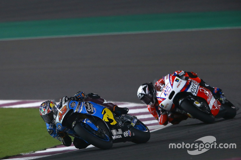 Jack Miller, Estrella Galicia 0,0 Marc VDS; Scott Redding, Pramac Racing