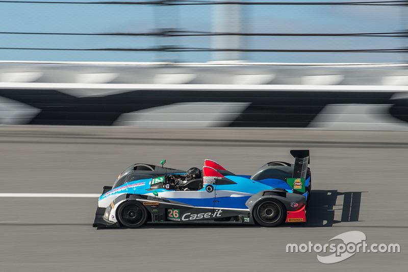 #26 BAR1 Motorsports Oreca FLM09: Adam Merzon, Johnny Mowlem