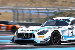 #4 Mercedes-AMG Team Black Falcon Mercedes AMG GT3: Adam Christodoulou, Yelmer Buurman, Luca Stolz