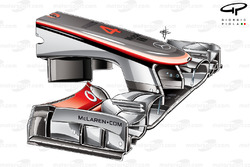 McLaren MP4-27 old nose