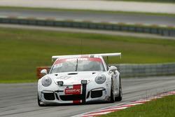 #333 Speed Lover No 333, Porsche 911 GT3 Cup: Mitch Gilbert, Phillipe Richard, Jean-Michel Gerome