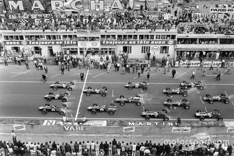 Na F1, Rindt conquistou seis vitórias, dez poles, e treze pódios.
