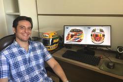 Raí Caldato - Vencedor do concurso da pintura do capacete de Lewis Hamilton