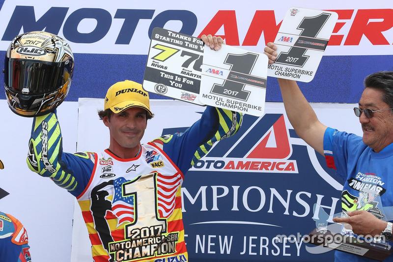 Toni Elías Suzuki Team Campeón Moto América