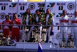 Podium: Pierluigi Martini, Yannick Dalmas, Joachim Winkelhock, BMW V12 LMR