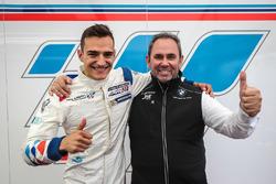 Il poleman Alex Palou, Teo Martin Motorsport