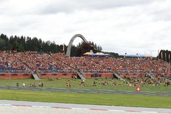KTM-Tribüne in Spielberg