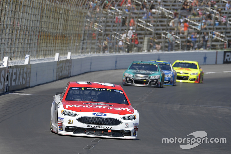 Ryan Blaney, Wood Brothers Racing, Ford; Jamie McMurray, Chip Ganassi Racing, Chevrolet