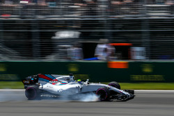 Felipe Massa, Williams FW40 locks up