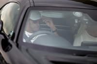 Lewis Hamilton, Mercedes AMG F1 in a Mercedes AMG GTS