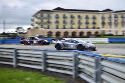#05 MP2A Porsche Cayman drive by Javier Ripoll Sr., Javier Ripoll Jr., #31 MP1A Lamborghini Gallardo R GT3, Sergio Lagana, Champ 1 Motorsports