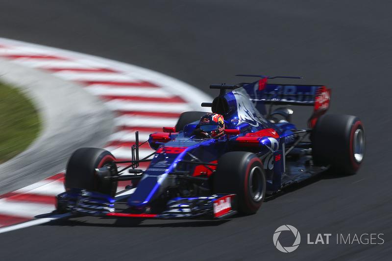 Данііл Квят, Scuderia Toro Rosso STR12