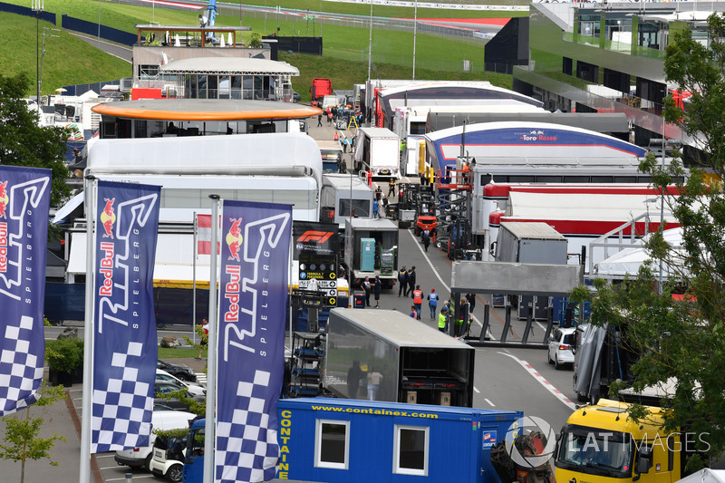 Red Bull Ring paddock