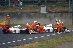Айртон Сенна, Ален Прост, McLaren MP4/5 Honda