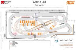 Tracciati pista, motocross e rally dell'Area 48