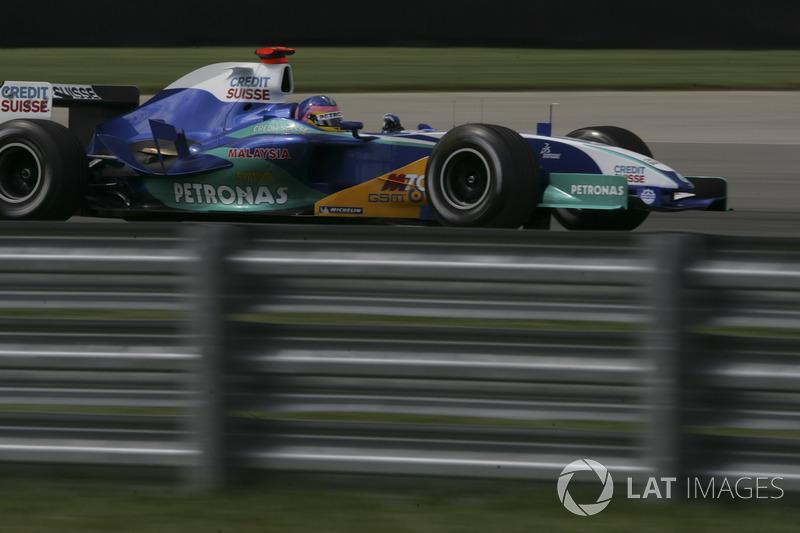 2005 : Sauber C24, à moteur Petronas (Ferrari)