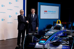 Wolfgang Eder, CEO of voestalpine AG, and Alejandro Agag, Founder & CEO of Formula E