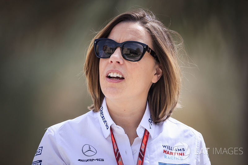 Claire Williams, Williams Deputy Team Principal