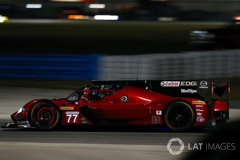 46º #77 Mazda Team Joest Mazda: Tristan Nunez (DPi)