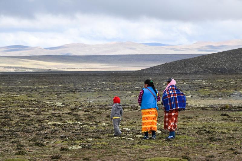 Peruanos en la etapa 6