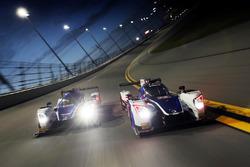 #23 United Autosports Ligier LMP2: Phil Hanson, Lando Norris, Fernando Alonso, #32 United Autosports Ligier LMP2: Will Owen, Hugo de Sadeleer, Bruno Senna, Paul di Resta