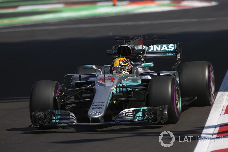 3. Lewis Hamilton, Mercedes AMG F1 W08