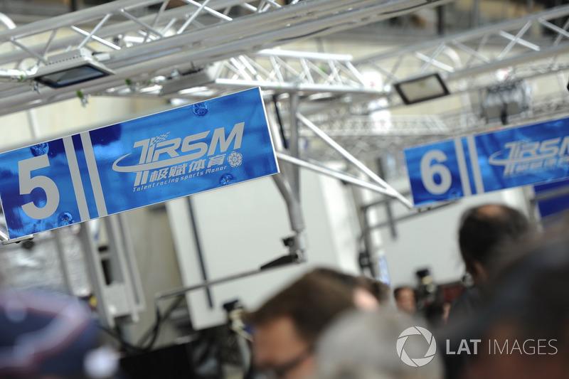 #5 CEFC TRSM RACING Ginetta G60-LT-P1, #6 CEFC TRSM RACING Ginetta G60-LT-P1