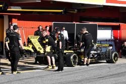 La voiture de Carlos Sainz Jr., Renault Sport F1 Team R.S. 18