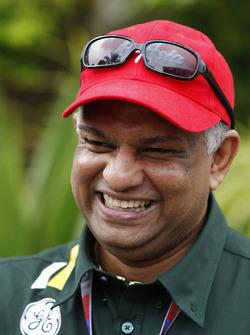 Tony Fernandes, directeur d'équipe, Caterham F1