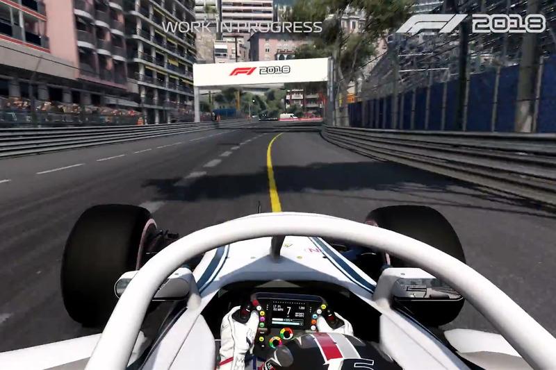 Mónaco en el videojuego F1 2018