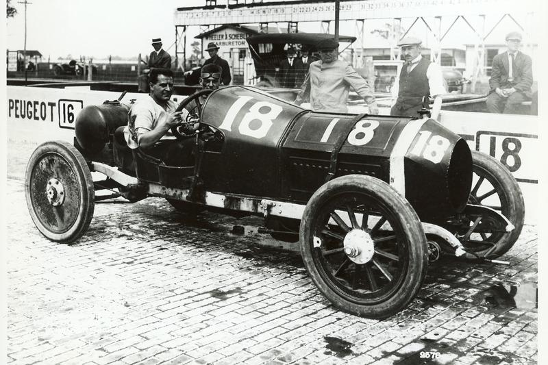 Race winner Jules Goux