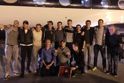 Jenson Button, Nico Rosberg, Jean-Eric Vergne, Max Verstappen, Nico Hulkenberg, Paul di Resta, Alexander Wurz, David Coulthard, Felipe Massa, Esteban Gutierrez