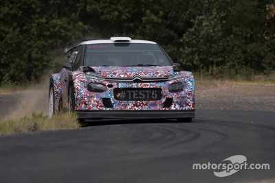 Citroën C3 WRC 2017 testing