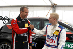 Kai Jordan, JBR Motorsport, VW Golf GTI TCR und Niklas Mackschin, Liqui Moly Team Engstler, VW Golf GTI TCR