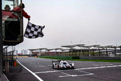 Sieg für #1 Porsche Team, Porsche 919 Hybrid: Timo Bernhard, Mark Webber, Brendon Hartley