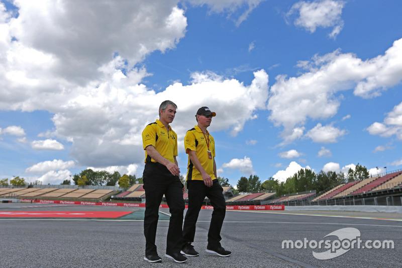 Nick Chester, Technischer Direktor, Renault Sport F1 Team, und Alan Permane, Renault Sport F1 Team