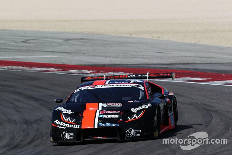 Agostini-Di Folco Antonelli Motorsport, Lamborghini Huracan S.GT3 #25