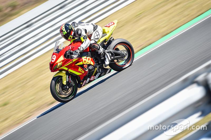 #69, Ecurie Chrono Sport, Kawasaki: Stephane Egea, Julien Pilot, Stephane Pagani