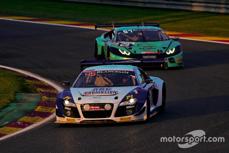 #27 Sainteloc Racing Audi R8 LMS: Mickael Blanchemain, Gilles Lallement, Valentin Hasse-Clot, Jean-Paul Buffin