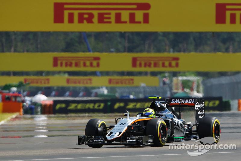 9: Sergio Perez, Sahara Force India F1 VJM09