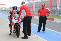 Danny Webb, Mahindra MGP30 and Mufaddal Choonia, Mahindra Racing SPA CEO