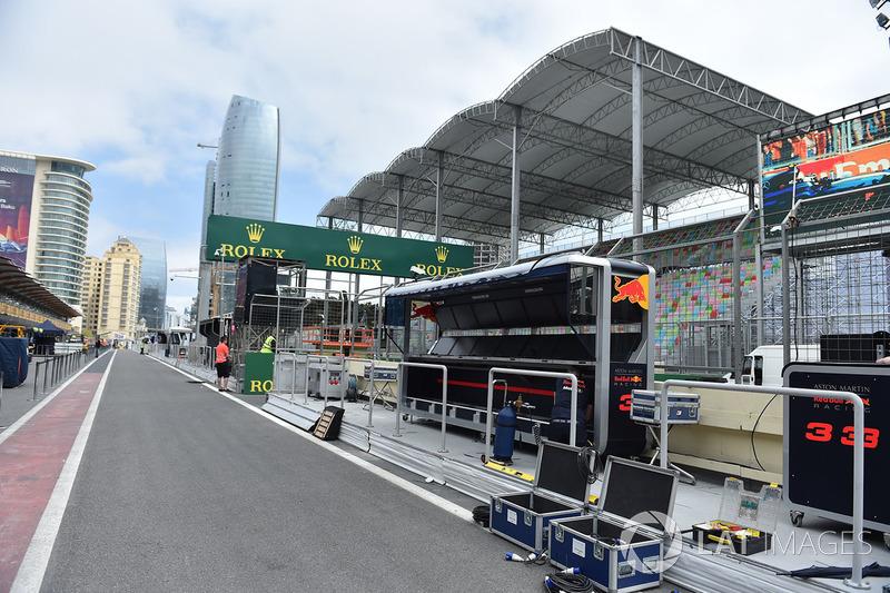 Pitlane Red Bull Racing