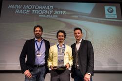 Marc Bongers, Jordan Szoke, Uwe Geyer, BMW Motorrad Race Trophy 2017
