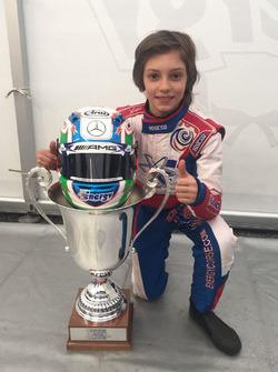 Le vainqueur Andrea Kimi Antonelli
