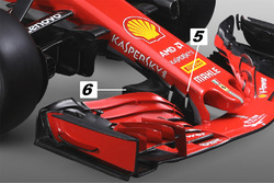 Ferrari SF71H neus