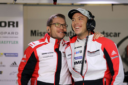 Andreas Seidl, Porsche Team leader, Andre Lotterer, Porsche Team