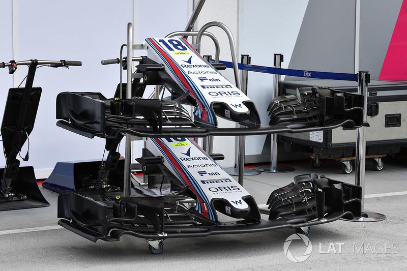 Sayap depan Williams FW41