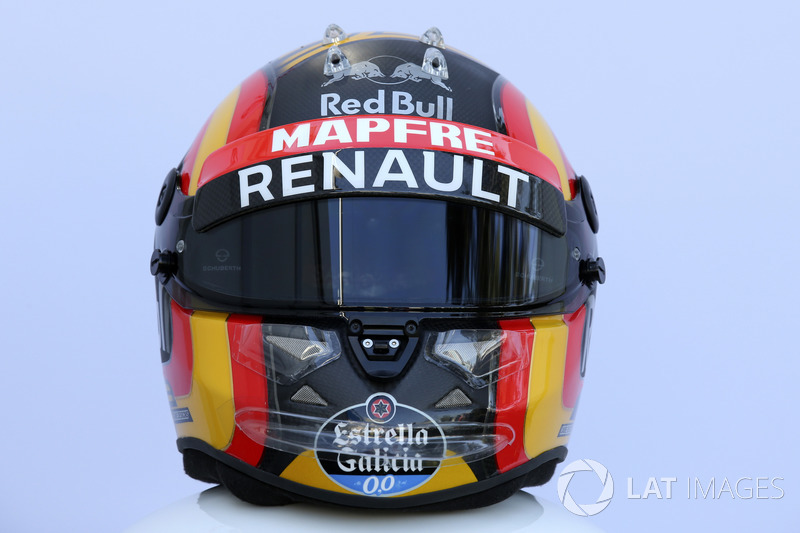 Casco de Carlos Sainz Jr., Renault Sport F1 Team